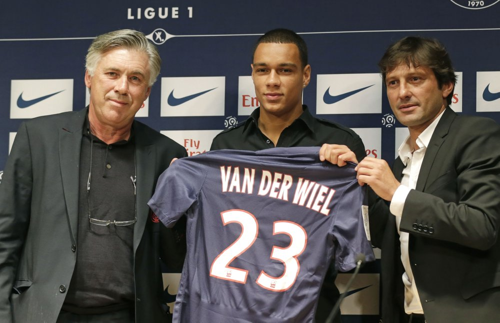 Gregory van der Wiel at Paris Saint Germain