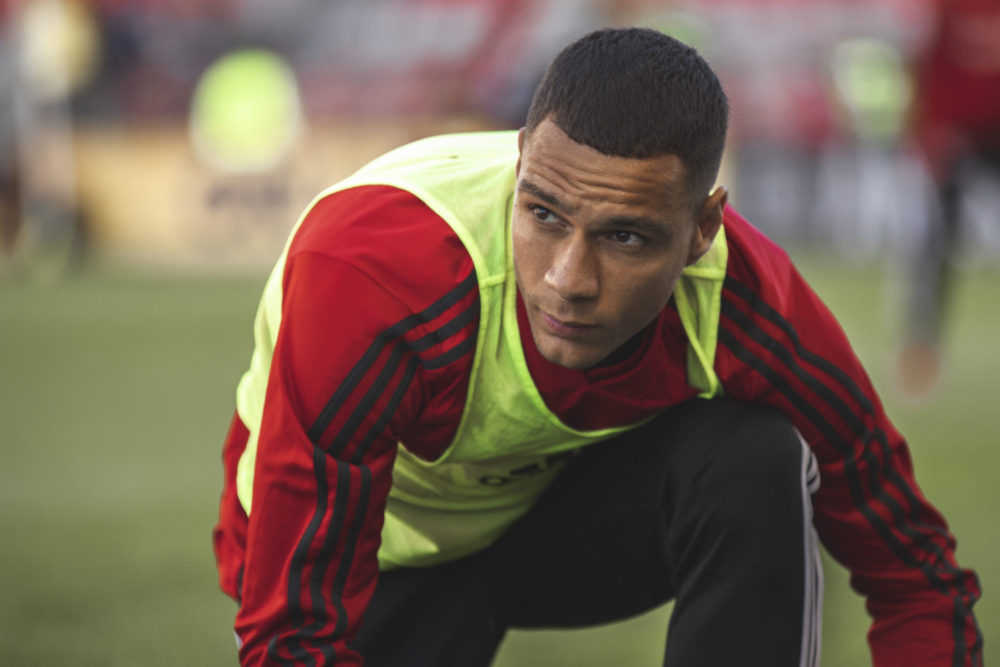 Gregory van der Wiel - warm up