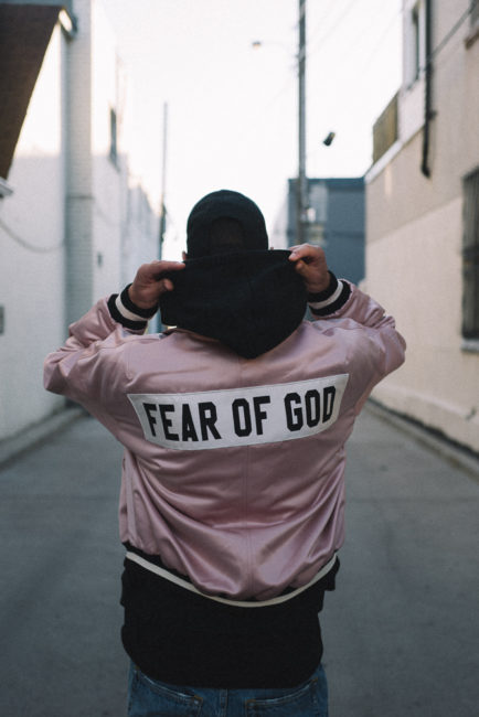 Gregory van der Wiel - Fear of God Hoodie back